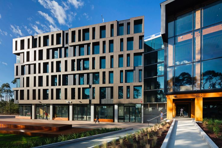 This project features our: elZinc Ebano / Black Location: RMIT Student Accommodation, Bundoora VIC  In collaboration with: Built | @richardmiddletonarchitects | @arcroofing
