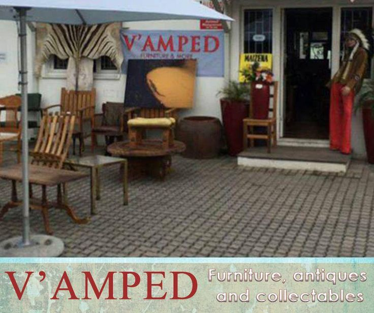 In the heart of Knysna, the discerning collector will find a treasure trove of antiques and collectables. V'amped owners, Rory and Nicola, are passionate about their business and look forward to welcoming you. #VampedFurniture