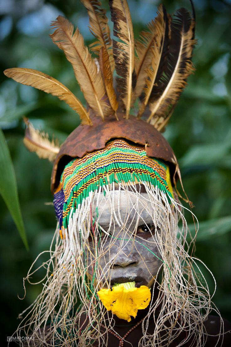 Suri tribe in Ethiopia, Africa