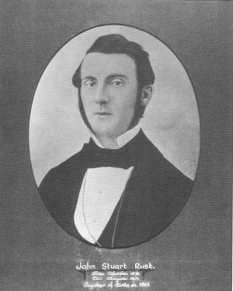 My Gr Gr Grandfather John Stuart Rust 1826-1876