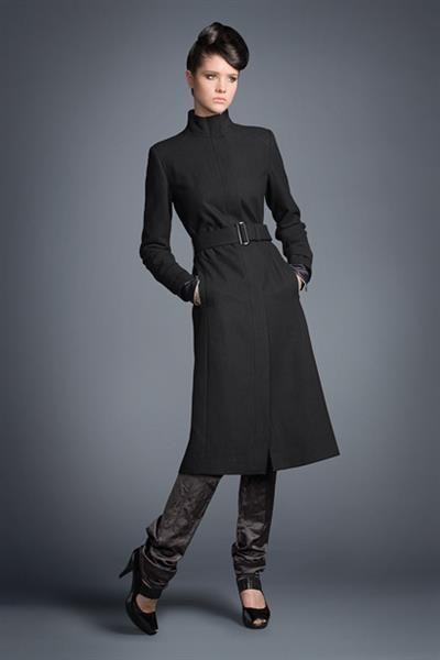Зимние пальто с воротником стойка