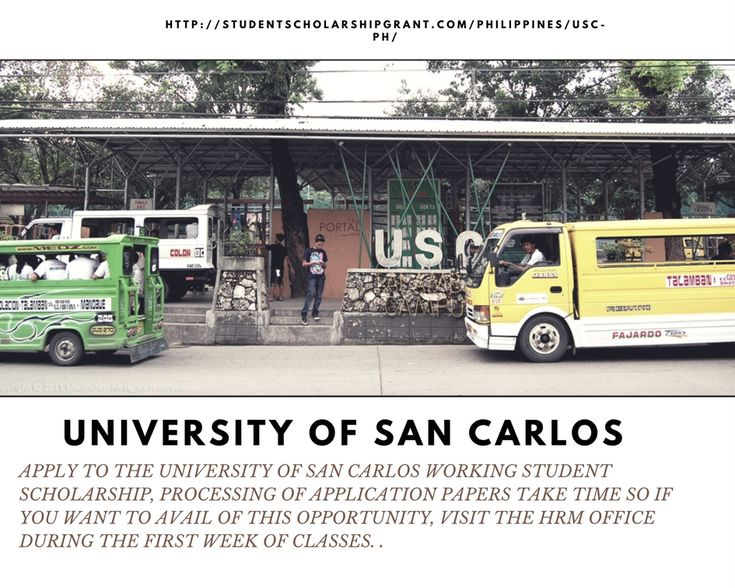 Apply to the University of San Carlos Working Student Scholarship, #PhilippineScholarship #StudentScholarshipGrant Read more