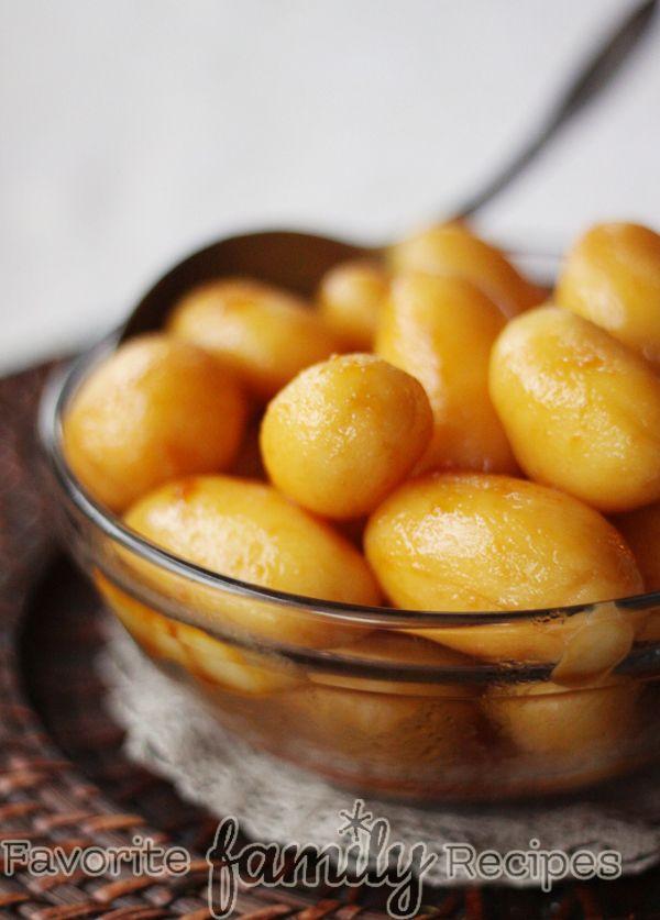 Brunede Kartofler (Caramelized/Browned Potatoes) - Favorite Family Recipes