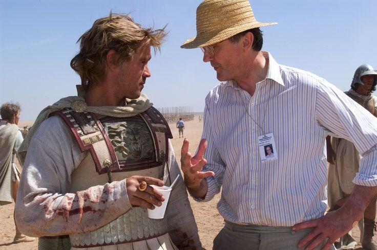 Still Of Colin Farrell And Robin Lane Fox In Alexander