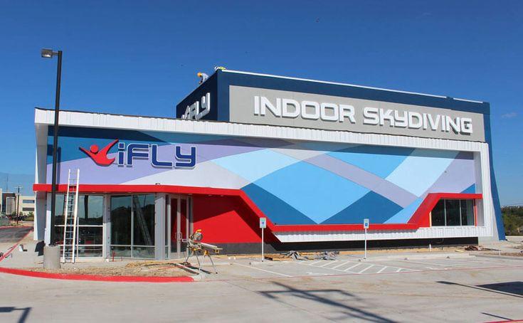 iFLY San Antonio indoor skydiving wind tunnel in Texas!