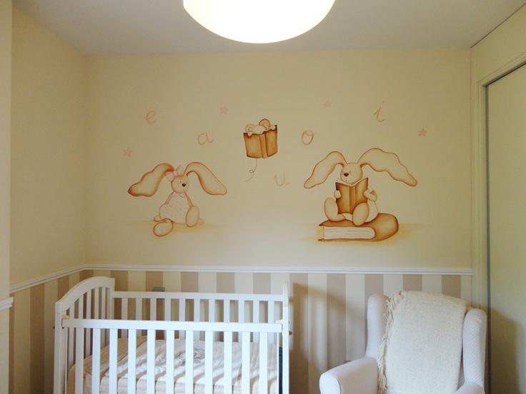 Mejores 108 im genes de murales pintados en pinterest for Murales habitacion bebe