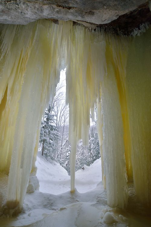 Eben Ice Caves  Michigan's Upper Peninsula