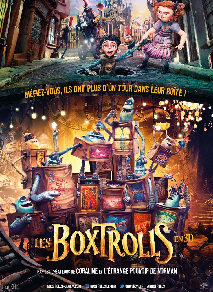 25 octobre : Les Boxtrolls de Graham Annable (2014)