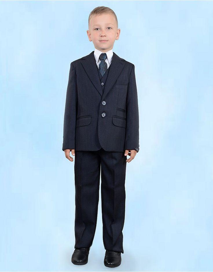 Школьный костюм тройка (0352 Классик)