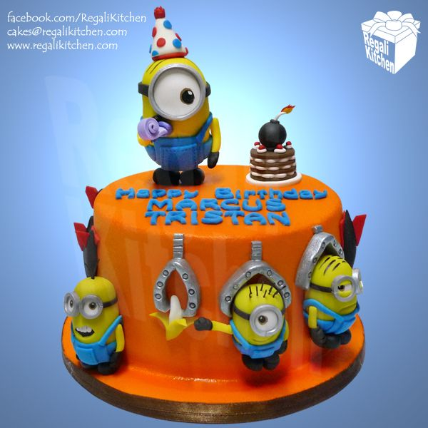 66 best Queques Villano favorito images on Pinterest Cake minion