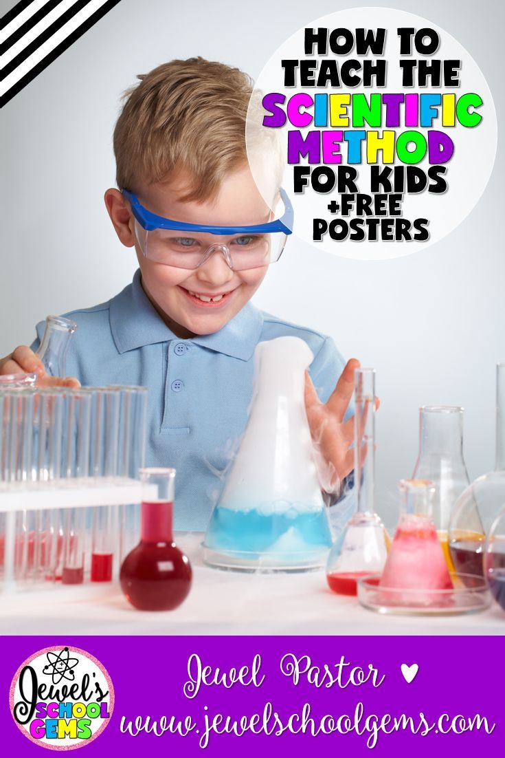 SCIENTIFIC METHOD | HOW TO TEACH THE SCIENTIFIC METHOD FOR KIDS by Jewel Pastor of Jewel's School Gems | The best ways to teach kids the scientific method, as you've probably already guessed, are through visuals, graphic organizers and hands-on activities