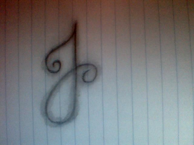 Image detail for -Cursive Letter J Tattoo submited images | Pic 2 Fly