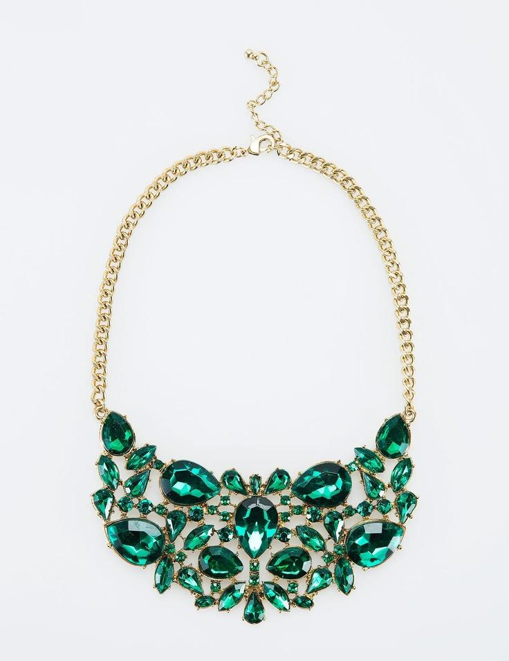 SIRAN halsband grön | Necklace | Jewelry | Smycken | Accessoarer | INDISKA Shop Online