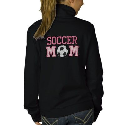 Soccer Mom - pink Hoody. For when the girls play soccer