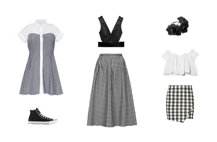 Spring/Summer 14 Trend – Gingham  www.EzzentricBlog.com  #fashionblog #polyvore #gingham #ss14 #hongkong #trend #fashionblogger #stylist
