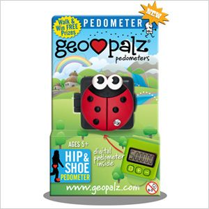 KID-FRIENDLY FITNESS GADGETS, INCLUDING GeoPalz Activity Tracker $25