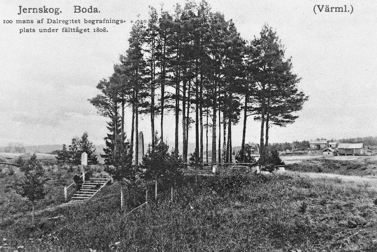 Bilder från förr - Koppom Järnskog Boda kyrkogård