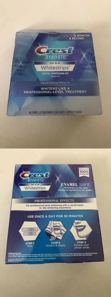 Whitening: Crest 3D White Professional Effects Whitestrips (20 Treatments 40 Strips) -> BUY IT NOW ONLY: $32 on eBay! http://reviewscircle.com/Teeth-Whitening-4-You