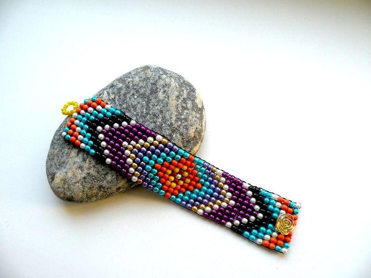 Indian Summer - bransoletka w Bajobongo na DaWanda.com