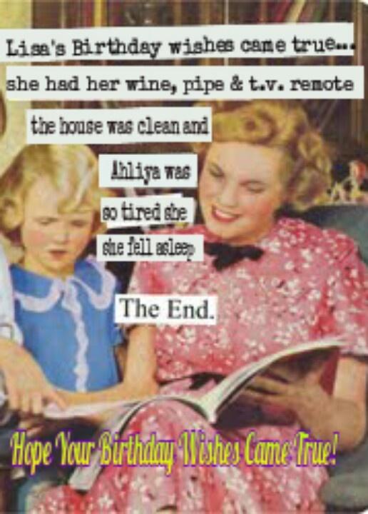 Happy Birthday Lisa!   Funny stuff I create!   Pinterest ...