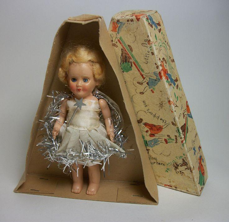 vintage Christmas fairy with original box