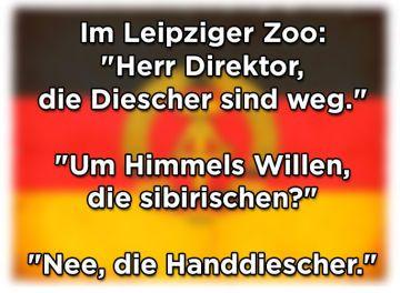16 Witze, die nur Ostdeutsche verstehen