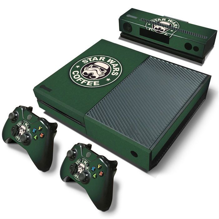*NEW* Xbox One Skin! Star Wars Includes : (2) Controller Skins (1) Console Skin - (1) Kinect Skin