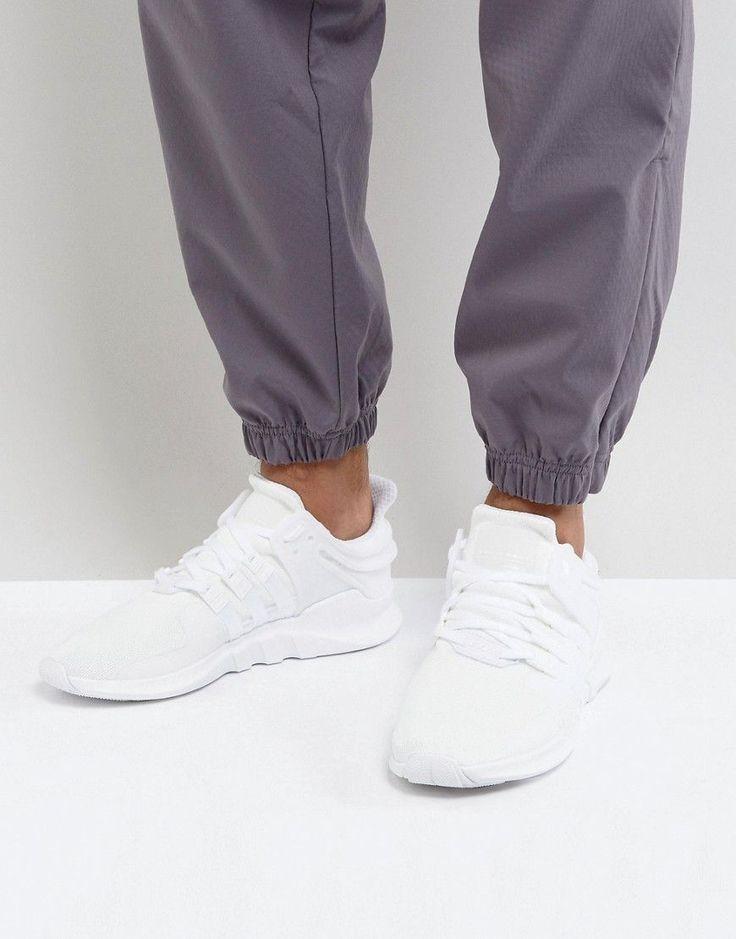 adidas Originals EQT Support ADV Sneakers In White CP9558 - White