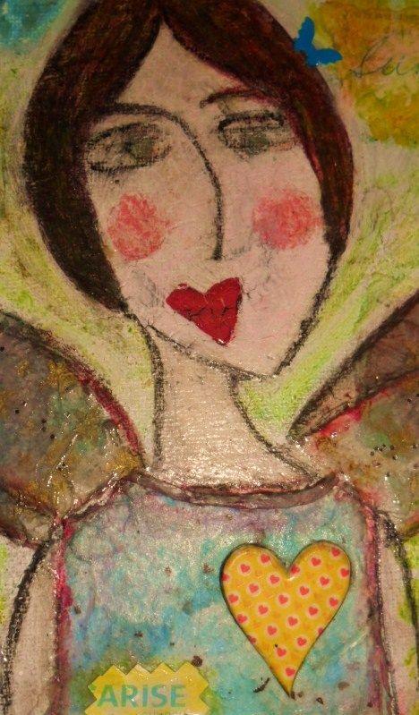 close up angel, 2009 aw