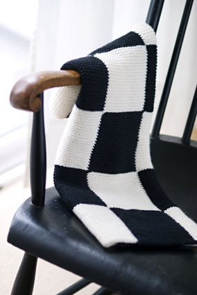 Church Mouse Yarns   Cashmerino Garter Blocks Blanket - just a pic, no pattern and link to item is gone.