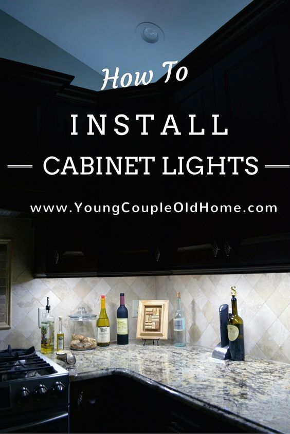 how to install cabinet lighting undercabinet lighting how to install yourself both under over cabinet lighting save those holiday lights keep reading on how to install easy and cheap u2026