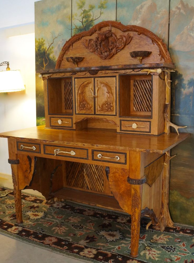 65 best adirondack rustic furniture images on pinterest - Adirondack style bedroom furniture ...