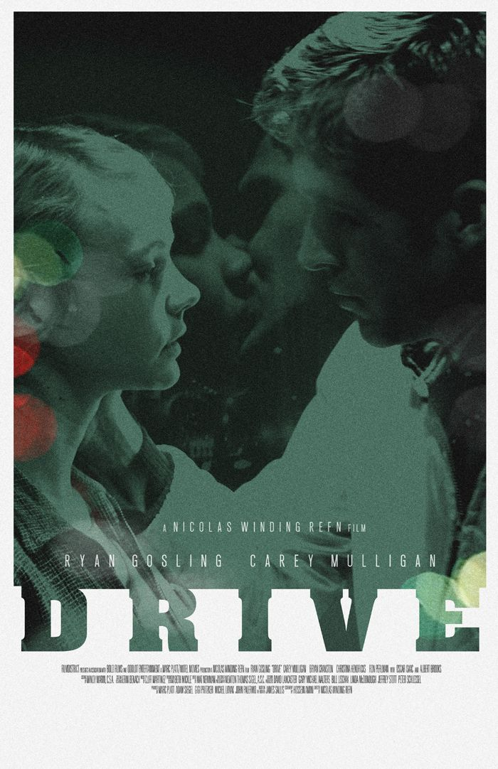 Drive - movie poster - Adam Juresko