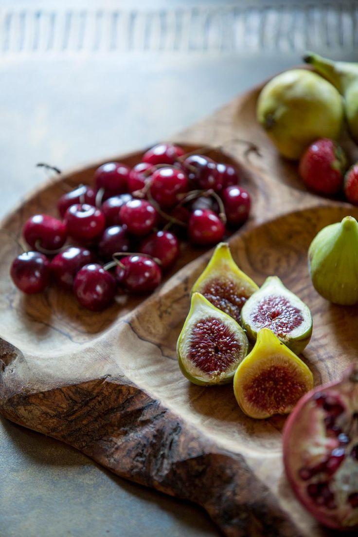 Fig and Cherry Platter from Monemvasia, Greece