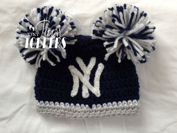 ... switzerland baby crochet i want a pink one crocheted new york yankees  hat cap by tinytippytoppers 3e63ea56ea0