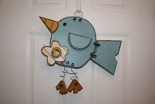 Cute Wood Crafts From Kerrie