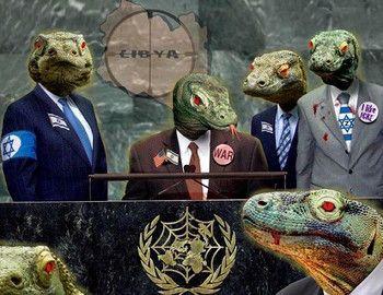 Откуда пошли теории заговора о рептилоидах