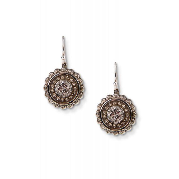 50628K Victorian Fancy Silver Earrings