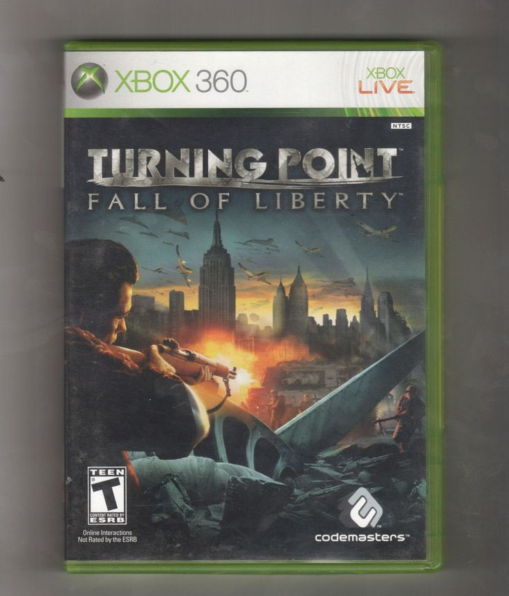 Turning Point Fall Of Liberty Game XBOX 360, Vintage Games, Antique Alchemy