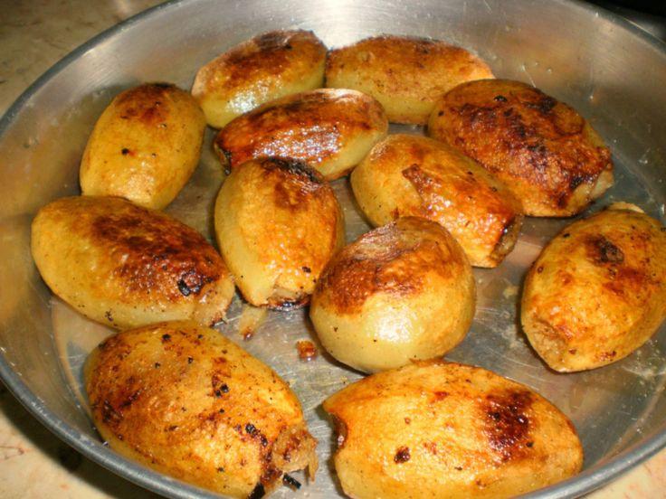 Egyptian Stuffed Potatoes