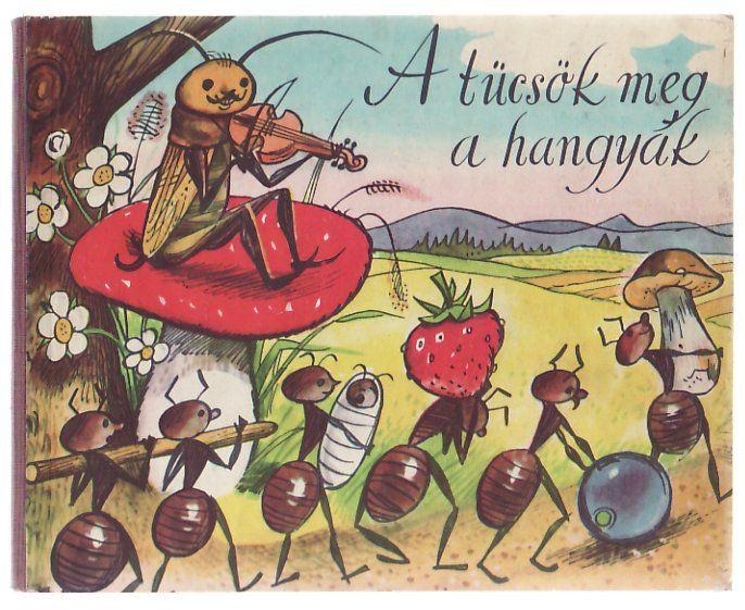A tücsök meg a hangyák (leporelló) - letölthető könyv (pdf)