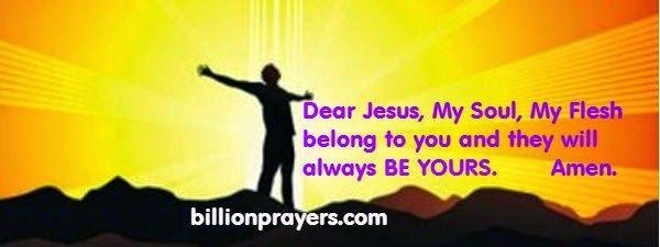 billion prayers i am yours