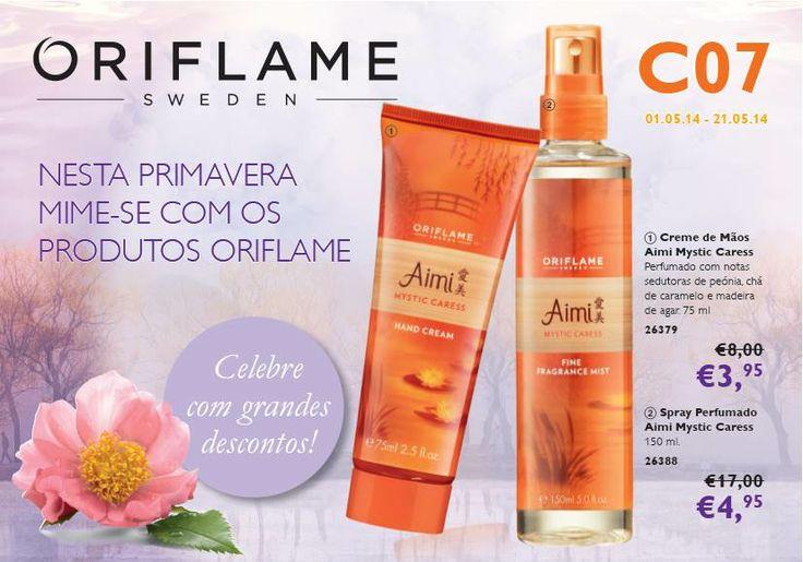 Flyer do Catálogo Oriflame 07 2014
