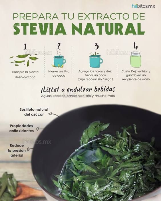 EXTRACTO DE STEVIA NATURAL