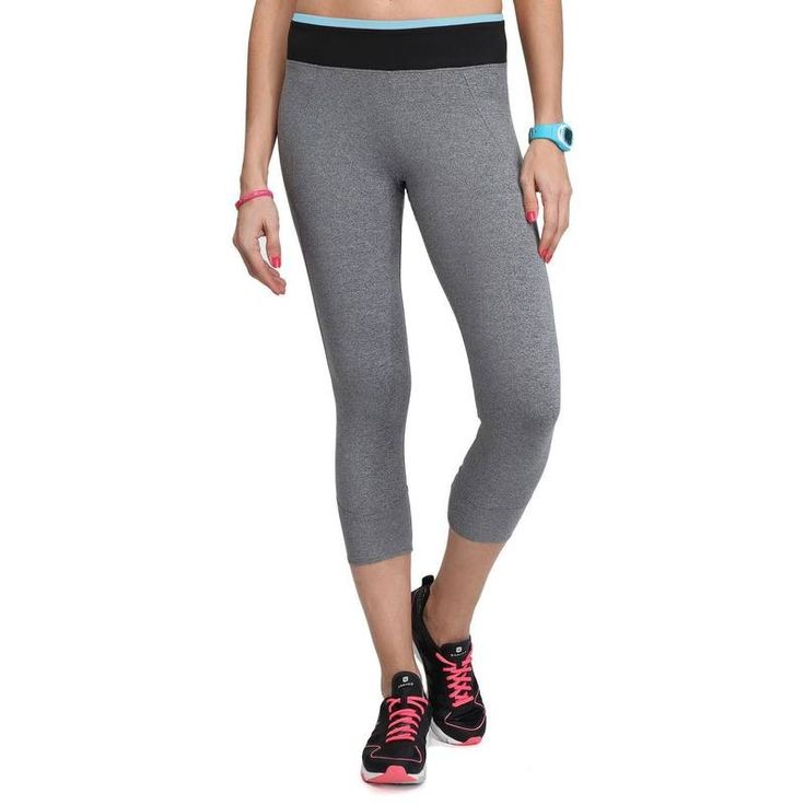 Fitness_6 Fitness, joga, cross training - Legginsy 7/8 ENERGY fitness DOMYOS - Sporty