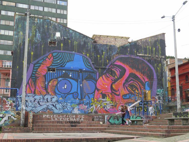 Awesome #Bogota #streetart Trips to #Colombia? www.finisterra.ca  #grafitti