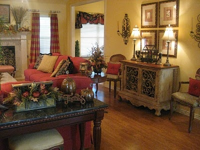 nice: Rooms Dresses, Creations Design, Decor Ideas, Kristen Creations, Fall Colors, Rooms Design, Fall Decorations, Families Rooms, Cute Living Rooms