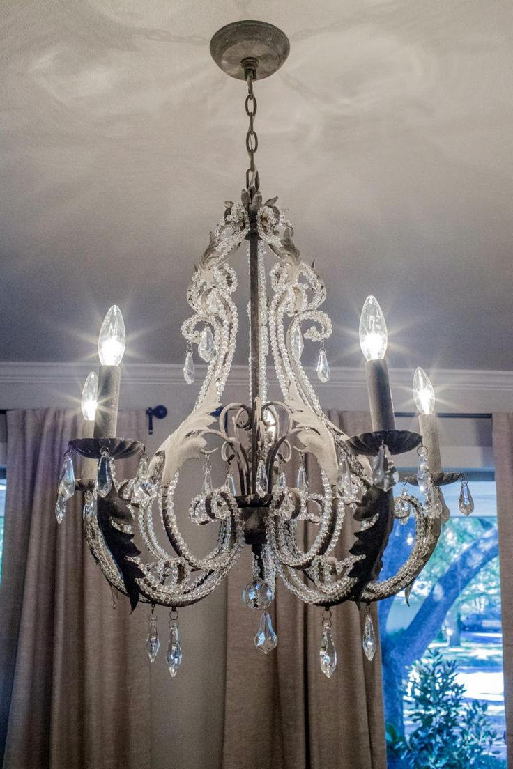 208 best chandeliers images on pinterest home ideas chip and joanna help a young couple turn a spacious but dated 60s ranch house arubaitofo Images