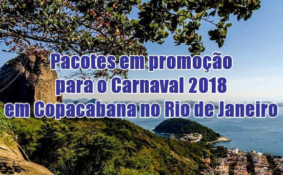 Carnaval 2018 em Copacabana Rio de Janeiro | Pacotes promocionais #promoção #viagem #viagens #carnaval #carnaval2018 #pacotes #cvc #decolar #hotelurbano #ofertas #dicas #bomdia #boatarde #rio #copacabana