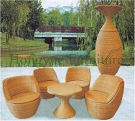 Outdoor rattan sectional sofa set supplier from China